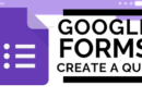 Distance Learning: Google Forms
